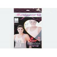 China Moistureproof Header Card Clear Polypropylene Bags With Seal Strip on sale