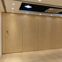 Wholesale Museum Luxury Partition Wall Sliding Doors Interior Wood Folding Sound Proof from china suppliers