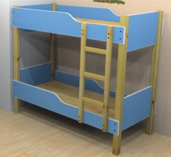Durable Kids Bed For Preschool Kindergarten Wooden Bed