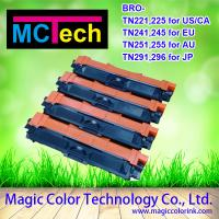 Wholesale Brother TN 221 TN241 TN251 TN281 T291 color printer toner cartridge from china suppliers