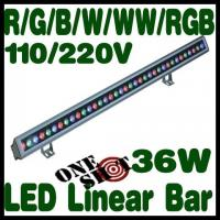 Wholesale high power USA Cree chip RGB 1000mm 36w ip65 led wall washer DMX512 control from china suppliers