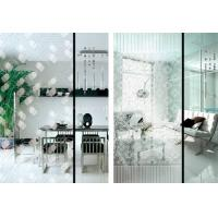 Buy cheap Custom Painting Flat 5mm Acid Etched Glass for Wardrobe / Kitchen Cabinet Door Glass from Wholesalers