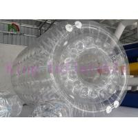 Wholesale Clear Inflatable Water Toy / Water Rolling Ball  With Clear Dots from china suppliers