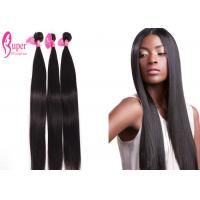 Buy cheap Raw Virgin 100 Mink Brazilian Virgin Hair Extensions / Straight Bundles With from wholesalers