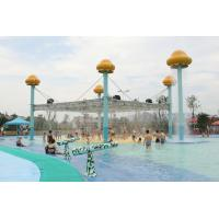 Jellyfish World Steel Large Aqua Play Water Park Equipment Aquatic Play Structures