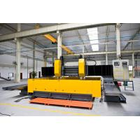 Double - Spindle CNC Plate Processing Machine Gantry Movable Type Flexible