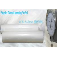 Wholesale Thin PET Laminating Film Glossy Finish from china suppliers