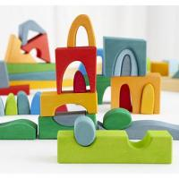 Quality Wooden Building Bricks Toy for sale
