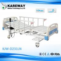 Foldable Variable Height Hospital Bed 2 Motors ISO13485 For Nursing Equipment