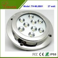 Wholesale Newest 5 27W LED pontoon Boat Marine Underwater Light Surface/Transom Mount from china suppliers
