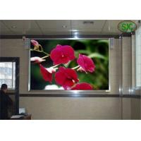 Wholesale HD railway / school indoor advertising led display board Steel or aluminum Cabinet from china suppliers