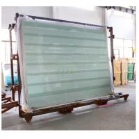 Buy cheap Laminated Glass Panels / Tempered Safety Glass with Printed Stripes or Dots from Wholesalers