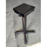 China Metal Restaurant Table Legs / Flip Top Table Legs Space Saving Storage Folding Table Bases on sale