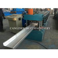 China Galvanized Steel Z Section Purlin Roll Forming Machine for Building Material on sale