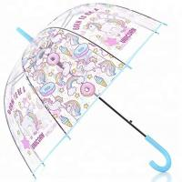 Quality Fashion Auto Open Transparent Dome Umbrella Outdoor Weddings Windproof for sale