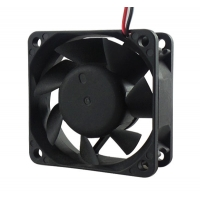 Wholesale high air flow 60*60*25mm 12v car fan heater 24v dc brushless motor fan from china suppliers