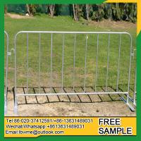 Buy cheap StLouis road barrier Union crowd safety control fence from wholesalers