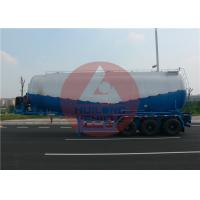 Quality Diesel Engine 40000 L Dry Bulk Tanker 3 Axle Bulk Cement Tanker Strong Bearing for sale