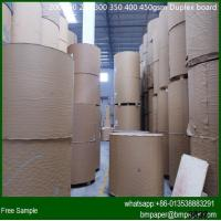 Wholesale Recycled White Coated Duplex Board With Grey Back from china suppliers