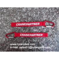 Wholesale Aluminum Carabiner mountaineer short strap lanyard, metal carabiner wrist lanyards, from china suppliers