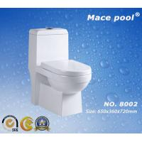 Wholesale Water Closet Siphonic Flushing One Piece Ceramic Toilet (8002) from china suppliers