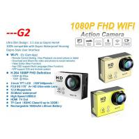 2 Inch Touch Screen 12 Mega Pixels Waterproof 30m G2 Full HD 1080p Action Cam Sport Camera