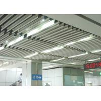 Wholesale Fashion Aluminium Baffle Ceiling J shaped Plug-in Blade Ceiling  for Airport, Metro from china suppliers