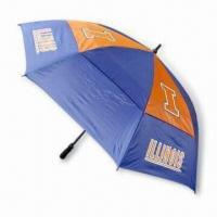 Wholesale 30 Inches Double-layer Golf Umbrella with Windproof Function from china suppliers