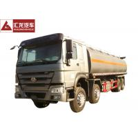 Wholesale 371hp Chemical Tank Trailer , 8x4 Aluminum Tanker Trailer Single Compartment from china suppliers