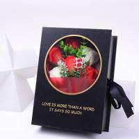 Wholesale Real Preserved Rose Rigid Paper Gift Box Round And Square Flower Box With Ribbon from china suppliers