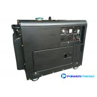 Wholesale Air Cooled Small 5kva Diesel Generators / Portable Silent Generator For Residential from china suppliers