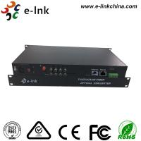 Wholesale 8 Ch 1080P AHD Video Cctv Media Converter 1 Ch Backward Data RS485 Type 20km Transmission from china suppliers