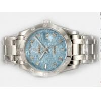 Buy Rolex Masterpiece Automatic Diamond high quality watch Marking With Blue Computer Dial