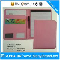 Wholesale Promotion Gift Promotional PU File Folder from china suppliers