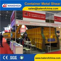 Wholesale China WANSHIDA Automatic Scrap Shear/Container Shear for propane tanks from china suppliers