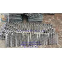 Wholesale DEWATERING SCREEN PANEL / WEDGE WIRE GRATING / JOHNSON SCREEN SUPPORT GRIDS / STAINLESS STEEL SCREEN PLATE from china suppliers