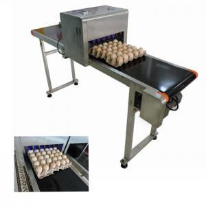 Eggs Inkjet Date Code PrinterFor Expiry Date , Batch Code Stamping Machine