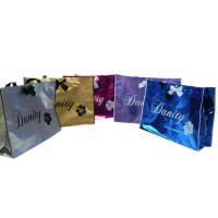 Wholesale Non Woven Carry Bag , 75g Coated Unwoven Fabric Shopping Bags With Butterfly Bow from china suppliers