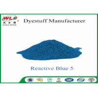 Wholesale Eco Friendly Textile Dyeing Of Cotton With Reactive Dyes C I Reactive Blue 5 from china suppliers