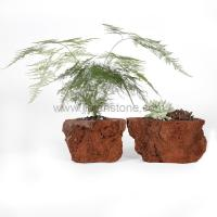 Buy cheap Lava Stone Flowerpot Pumice Planter from wholesalers