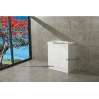 Wholesale Modern Bathroom Cabinet MDF Bathroom Vanity Big Drawers With DTC Metal Runners from china suppliers