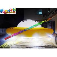 Wholesale Advertising Inflatables UFO Helium Balloon With LED Lighting Decoration from china suppliers