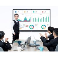 China Electronic Smart Interactive Whiteboard Conference Flat Panel Fast Heat Dissipation on sale
