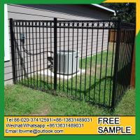 Wholesale Fence factory Lot pictures iron fences Tampa wrought iron fencing from china suppliers