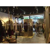 China Custom Wood Display Shelving & Stands For Garment Shops / Wine Stores / Malls on sale