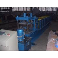 3KW Hydraulic Power Metal Roofing Ridge Caps Roll Forming Machine with Cutting Device