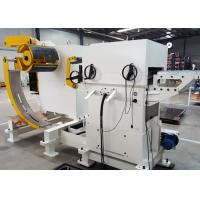 Autoamtic Cold Rolled Steel Punching Press 3 In 1 Decoiler Straightener Feeder For Automobile Parts & Toy With CE