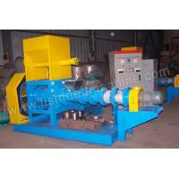 Wholesale Blue Fish Feed Pellet Extruder Machine with 0.18t/h-5t/h production from china suppliers