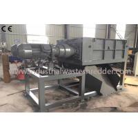 Wholesale Tough Plastic Waste Shredding Machine , Plastic Frame Automobile Tire Shredding Machine from china suppliers