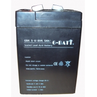 Wholesale Emergency Lights Agm 4.5AH 6V Lead Acid Battery from china suppliers